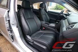 2017 honda civic hatchback seat covers review 2016 honda civic rs turbo philippine car news car