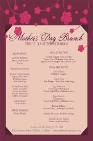 Mother S Day Menu Template Mothers Day Brunch At Teton Springs Century 21 Teton