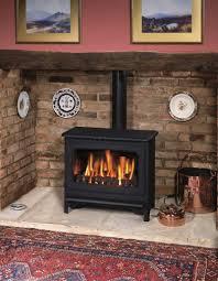 impressive fireplace design ideas using flueless wood burning stoves astonishing living room decoration using brick