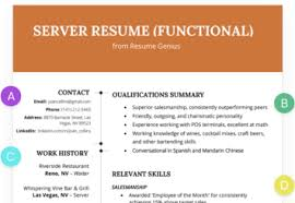 Resume Functional Functional Resume Samples Writing Guide Rg