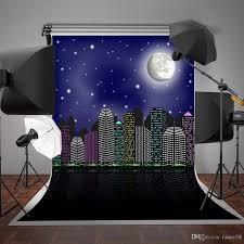 <b>150x220cm</b> Super City Photography <b>Backdrops Blue Sky</b> Stars ...
