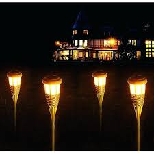 Outdoor torch lights Dancing Garden Torch Lights Solar Flame Lights Bamboo Waterproof Landscape Lawn Lamps Outdoor Garden Decor Torch Lamp Garden Torch Lights Amazon Uk Garden Torch Lights Solar Garden Torch Lights Waterproof Flame