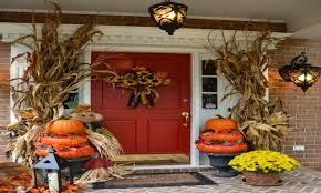 thanksgiving front door decorationsAmazing Inexpensive Thanksgiving With Decor Toger And Inexpensive
