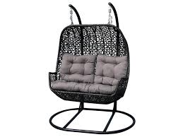saint martinique outdoor double hanging chair