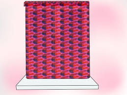 Red Swag Kitchen Curtains How To Make Kitchen Curtains 12 Steps With Pictures Wikihow