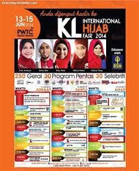 Small Picture 13 15 Jun 2014 Kuala Lumpur International HIJAB Fair at PWTC
