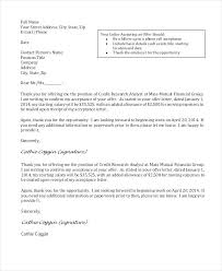 Offer Letter Acceptance Mail Format Job Offer Rejection Letter After Accepting In Is Accepted