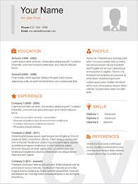 Resume Template Examples Sample Of Simple Resume Resume Sample Luxury Resume Example Simple ...