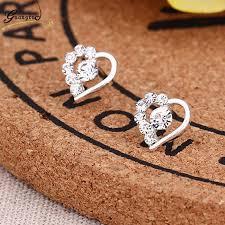 2019 <b>New Fashion Exquisite</b> Stud Earrings Cute Cherry Star Crown ...