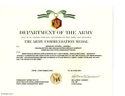 Military Certificate Templates template Awards Certificate Template Military Award Image 24