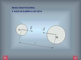 Resultado de imagen de masa gravitacional