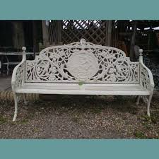white iron patio furniture.  Patio Metal Garden Furniture Sets On Cast Iron Range From The  Large Table And Chair Intended White Patio
