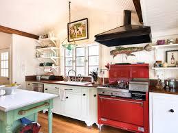 Kitchen With Red Appliances Custom Cottage Kitchen Rodney Tassistro Hgtv
