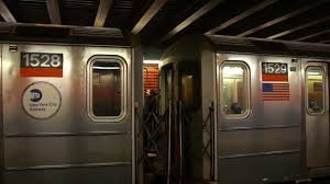 subway train side. Fine Side MTA New York City Subway  181st Street  George Washington Bridge  IRT  7th Ave  West Side Line  YouTube In Train