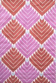 lavishly striped dhurrie rugs decoration purple rug by wool