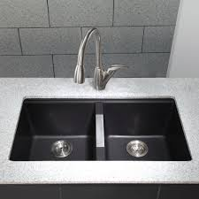 Swan Granite Kitchen Sink Granite Kitchen Sinks Double Luxurious And Classy Granite