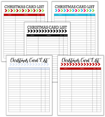 Christmas Card Mailing List Cupcake Wishes Birthday Dreams Christmas Card List And