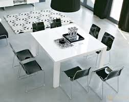 square dining table white  with square dining table white