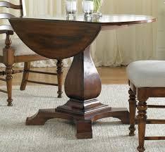 Hooker Furniture Dining Room Waverly Place Round Drop Leaf Pedestal