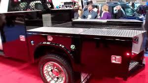 New Knapheide 9' Gooseneck Flatbed Truck Body That Acts Like A ...