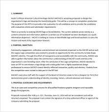 Design Proposal Sample Graphic Design Proposal Template Pdf