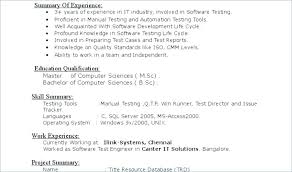 Resume Objective For Software Engineer Resume Objective For Software
