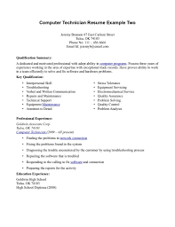 Information Technology Resume Examples Resume Examples And Free