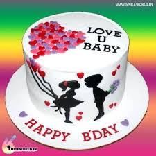 Birthday Wishes For Husband On Cake Love You Baby Happy Birthday