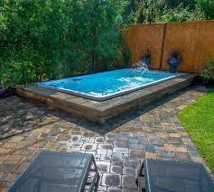 78 best swim spa install ideas images on inground spa