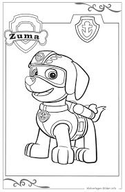 Paw Patrol Ausmalbild Fr Kinder Zum Gratis Download