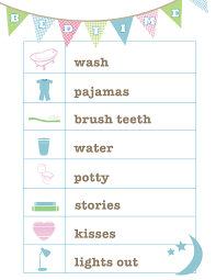 Bedtime Chart Printable Free Bedtime Routine Printable From Love And Life Cards
