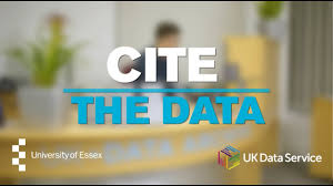 Uk Data Service Citing Data