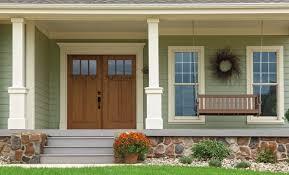 craftsman double front door. Simple Door Wood Grain Fiberglass Entry Door Intended Craftsman Double Front Door