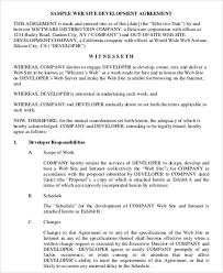 Simple Contractor Agreement Template Simple Contract Agreement 13 Examples In Word Pdf