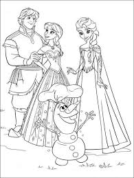 50 Beautiful Frozen Coloring Pages For Your Little Princess Color