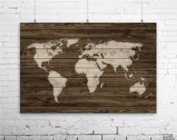 home officevintage office decor rustic. World Map Poster, Rustic Decor, Wall Art, Office Home Officevintage Decor