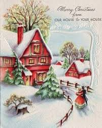 Christmas Cards Images 833 Best Vintage Christmas Cards Images Vintage Christmas Retro