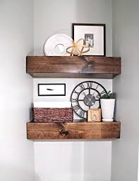 thick wooden kitchen shelves wonderful for classy 8