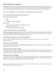 free online resume writing cv writing template