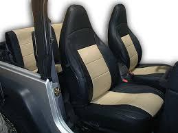jeep wrangler tj seat covers best of jeep wrangler tj sahara 1997 2002 iggee s leather