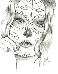 Sugar Skull Coloring Pages - Bestofcoloring.com