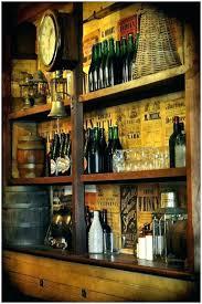shelves for liquor bottles floating glass bar bottle top wall to