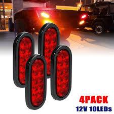 Led Boat Trailer Brake Lights Sponsored Ebay 4pcs 10 Led Red Rear Trailer Lights Tail