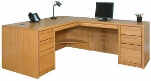 oak office table. Interesting Office Genuine Oak Office Furniture  Executive Ldesk With Right Return  Intended Table A