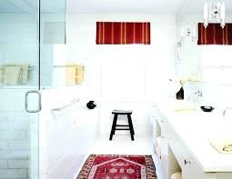 bathroom rug red area white decor persian our cur home style part 1 hou