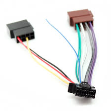 sony 16 pin iso wiring harness lead cable adapter cdx gt470um sony wiring harness diagram at Sony 16 Pin Wiring Harness