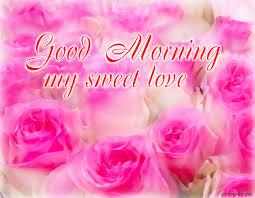 good morning sweet