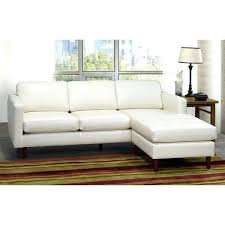 mid century modern leather sectional sofa faux furniture ray ivory top grain tufted