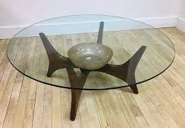 adrian pearsall walnut coffee table w