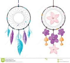 Free Pictures Of Dream Catchers Dreamcatcher stock vector Illustration of feathers dreams 100 1